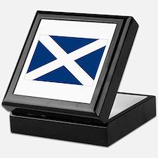 Scottish Flag Keepsake Box