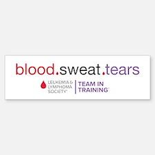 blood.sweat.tears Bumper Bumper Sticker