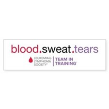 blood.sweat.tears Bumper Sticker