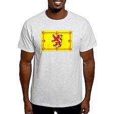 Scottish Coat of Arms Ash Grey T-Shirt