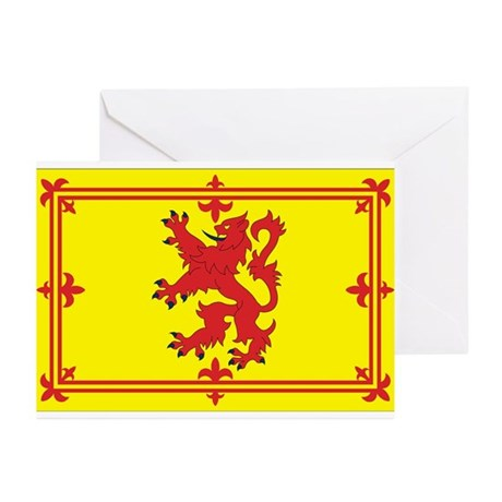 Scottish Coat of Arms Greeting Cards (Pk of 10