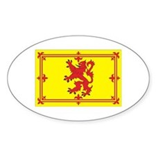 Scottish Coat of Arms Oval Decal