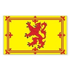 Scottish Coat of Arms Rectangle Decal
