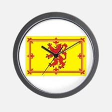 Scottish Coat of Arms Wall Clock