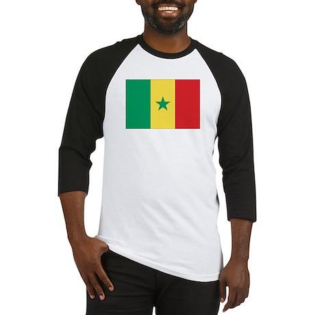 Flag of Senegal Baseball Jersey