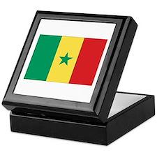 Flag of Senegal Keepsake Box