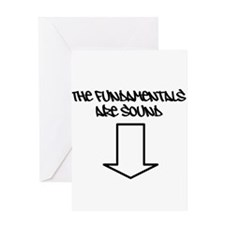 The Fundamentals are Sound Greeting Card