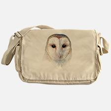 barn owl Messenger Bag