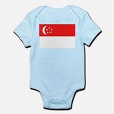 Singapore Flag Infant Creeper