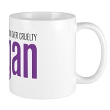 Vegan Compassion Over Cruelty Mug
