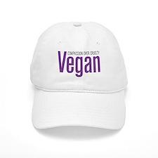 Vegan Compassion Over Cruelty Baseball Cap