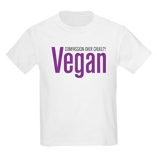 Vegan Compassion Over Cruelty T-Shirt