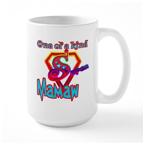 SUPER MAMAW Large Mug