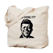 WHO DONE IT? Tote Bag