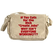 $34.99 Tax Cuts for the Rich Messenger Bag