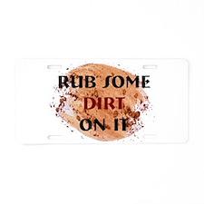 RSDOI Aluminum License Plate