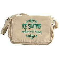 Ice Skating Messenger Bag