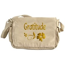 Gratitude Messenger Bag