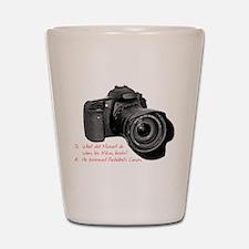 Pachelbel's Canon Shot Glass