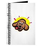 Happy Dachshund Cartoon Journal
