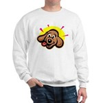 Happy Dachshund Cartoon Sweatshirt