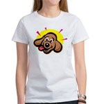 Happy Dachshund Cartoon Women's T-Shirt