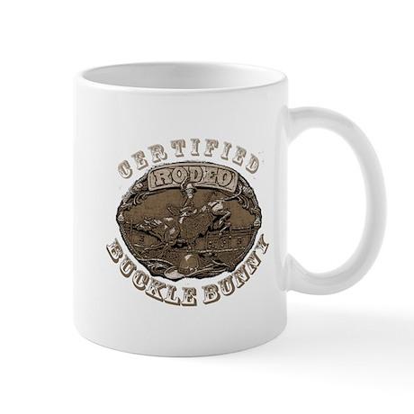 Certified Rodeo Buckle Bunny Mug