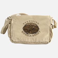 Certified Rodeo Buckle Bunny Messenger Bag