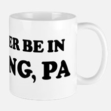 Rather be in Reading Mug