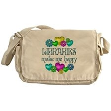 Library Happiness Messenger Bag
