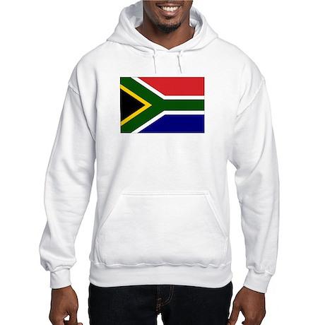 South African Flag Hooded Sweatshirt