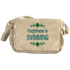 Happiness Swimming Messenger Bag