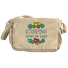 Camping Happiness Messenger Bag