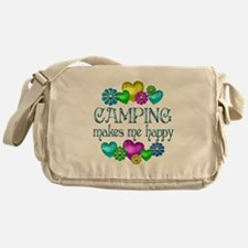 Camping Happiness Messenger Bag
