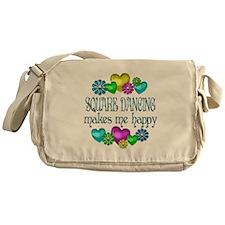 Square Dancing Messenger Bag