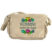 Swimming Happiness Messenger Bag