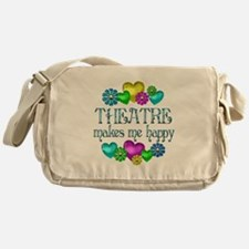 Theatre Happiness Messenger Bag