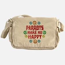 Parrot Happiness Messenger Bag