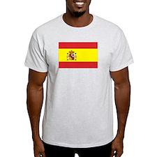 Spanish Flag Ash Grey T-Shirt