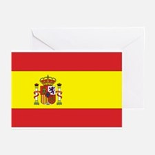 Spanish Flag Greeting Cards (Pk of 10)