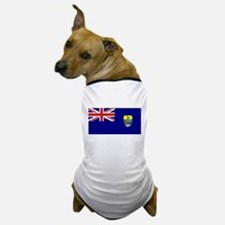 St Helena Flag Dog T-Shirt