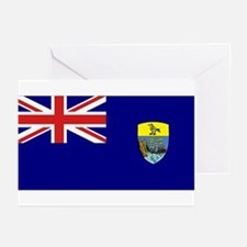 St Helena Flag Greeting Cards (Pk of 10)