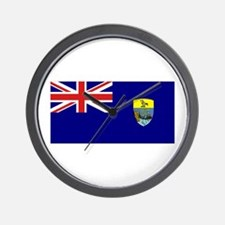 St Helena Flag Wall Clock