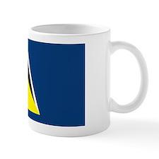 St Lucia Flag Mug