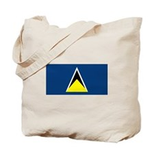 St Lucia Flag Tote Bag