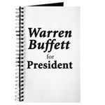 Buffett for President Journal