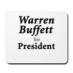 Buffett for President Mousepad