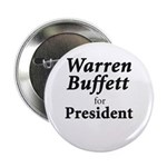 "Buffett for President 2.25"" Button"