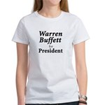 Buffett for President Women's T-Shirt