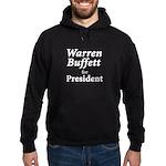 Buffett for President Hoodie (dark)